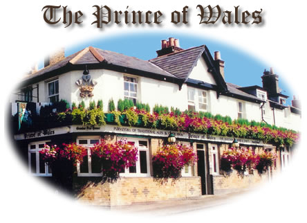 The Prince of Wales Pub, Anderson Road, Oatlands Village, Weybridge, Surrey